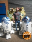 Photos de la Cantina. Merci à Crisangel et ses parents pour R2D2